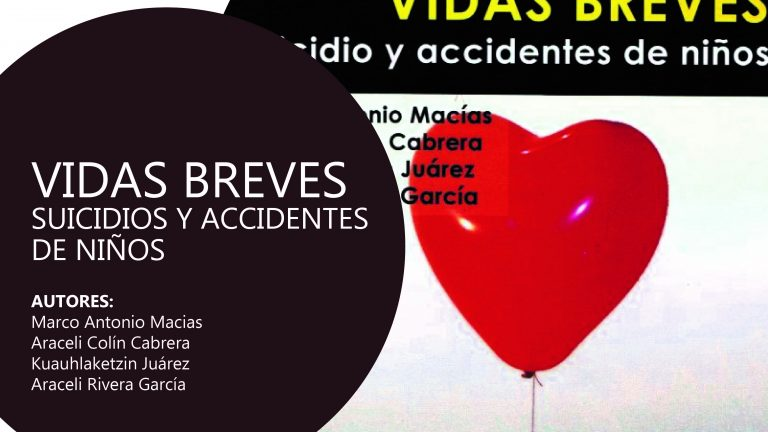 Libro: Vidas Breves. Suicidio y accidentes de niños.