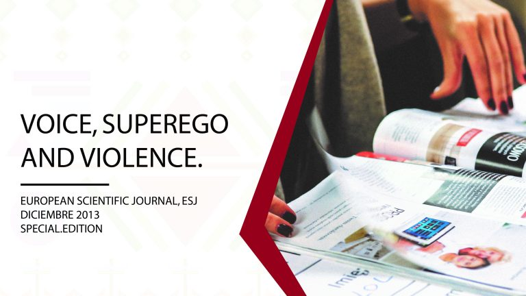 Voice, superego and violence.