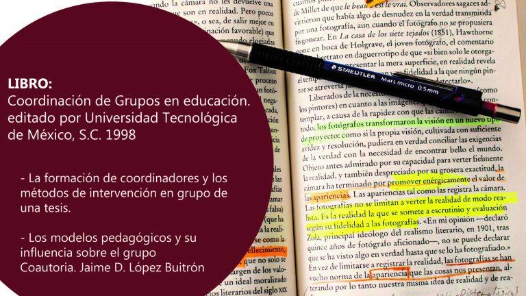 Libro: Coordinación de Grupos en educación