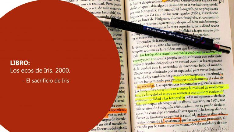 Libro: Los ecos de Iris,