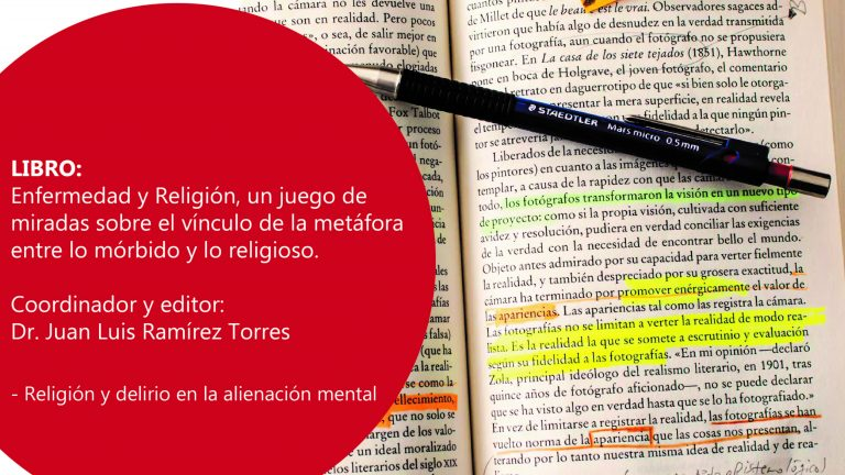 Libro: Enfermedad y Religión, un juego de miradas sobre el vínculo de la metáfora entre lo mórbido y lo religioso.